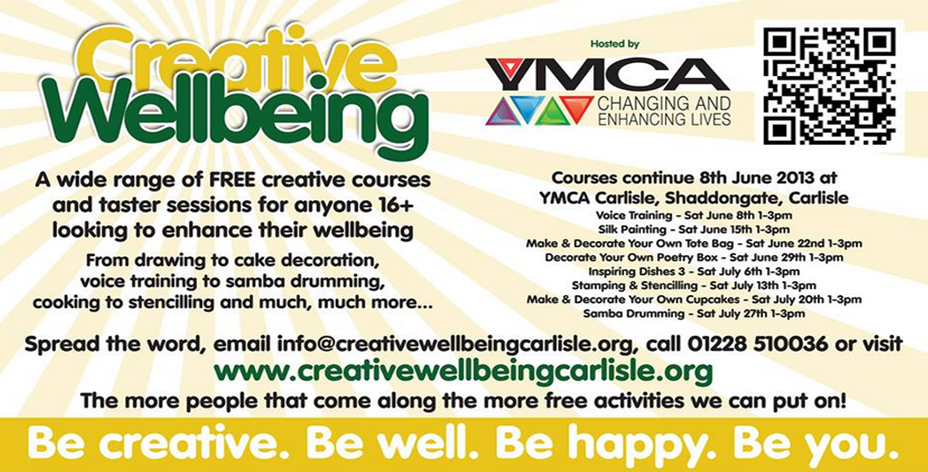 Creative Wellbeing Jul 13