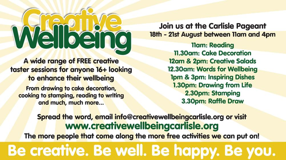 Creative Wellbeing Carlisle Pageant