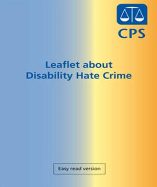 Disability Hate Crime CPS