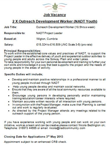 NADT Outreach Worker