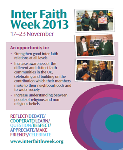 Interfaith Week 2013