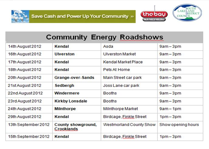 Community Energy Roadshow